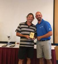 A Grade Men's Nett Runner Up Mark Aird (Qld)