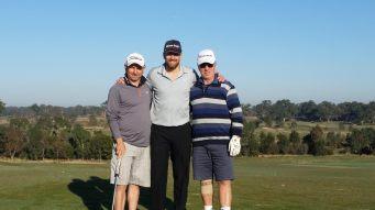Simon Hogan, Tim Clarkson & Bill Hynes
