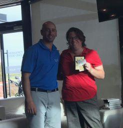 Women's Scratch winner - Linda Marchesi